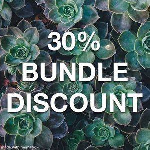 30% Bundle Discount